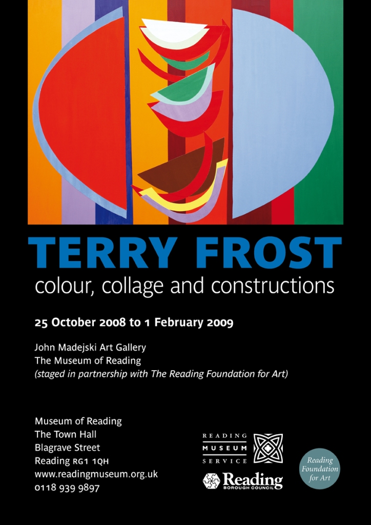 Terry Frost: colour, collage and constructions exhibition