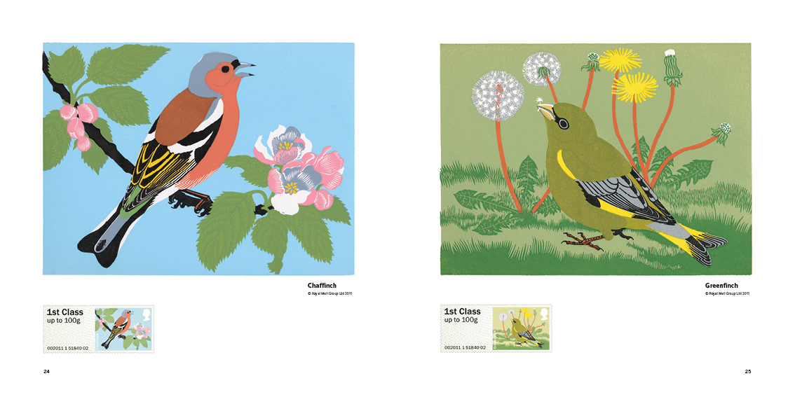 Birds, Blocks & Stamps by Robert Gillmor