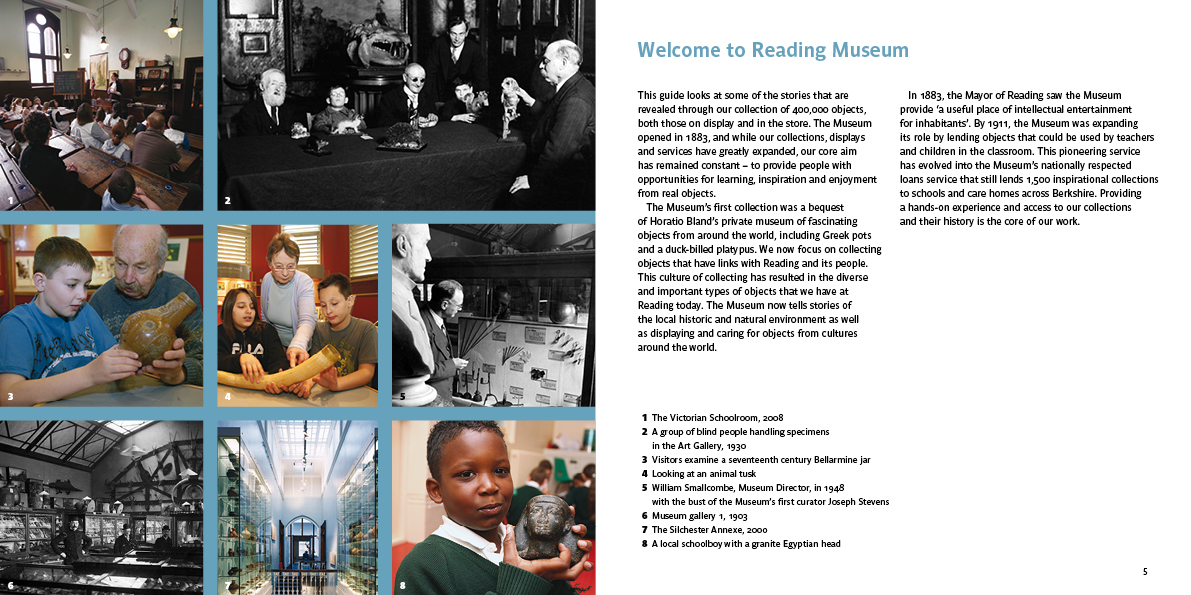 The World in Reading museum guide