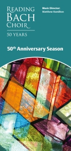 Reading Bach Choir 50th Anniversary Season